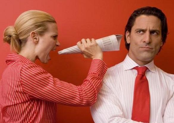 Что делать, если  запилила  жена?
