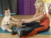 Детский фитнес сплотит всю семью